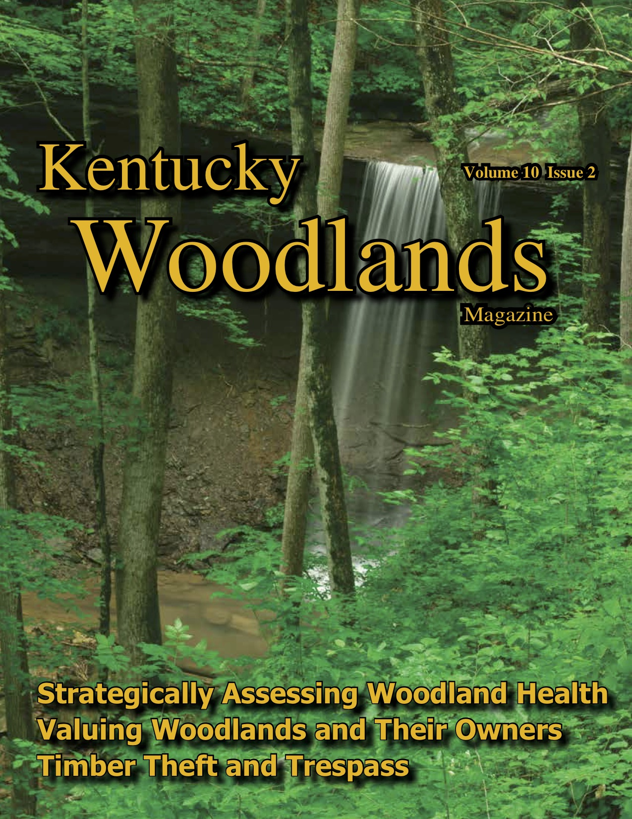 Kentucky Woodland Magazine Cover