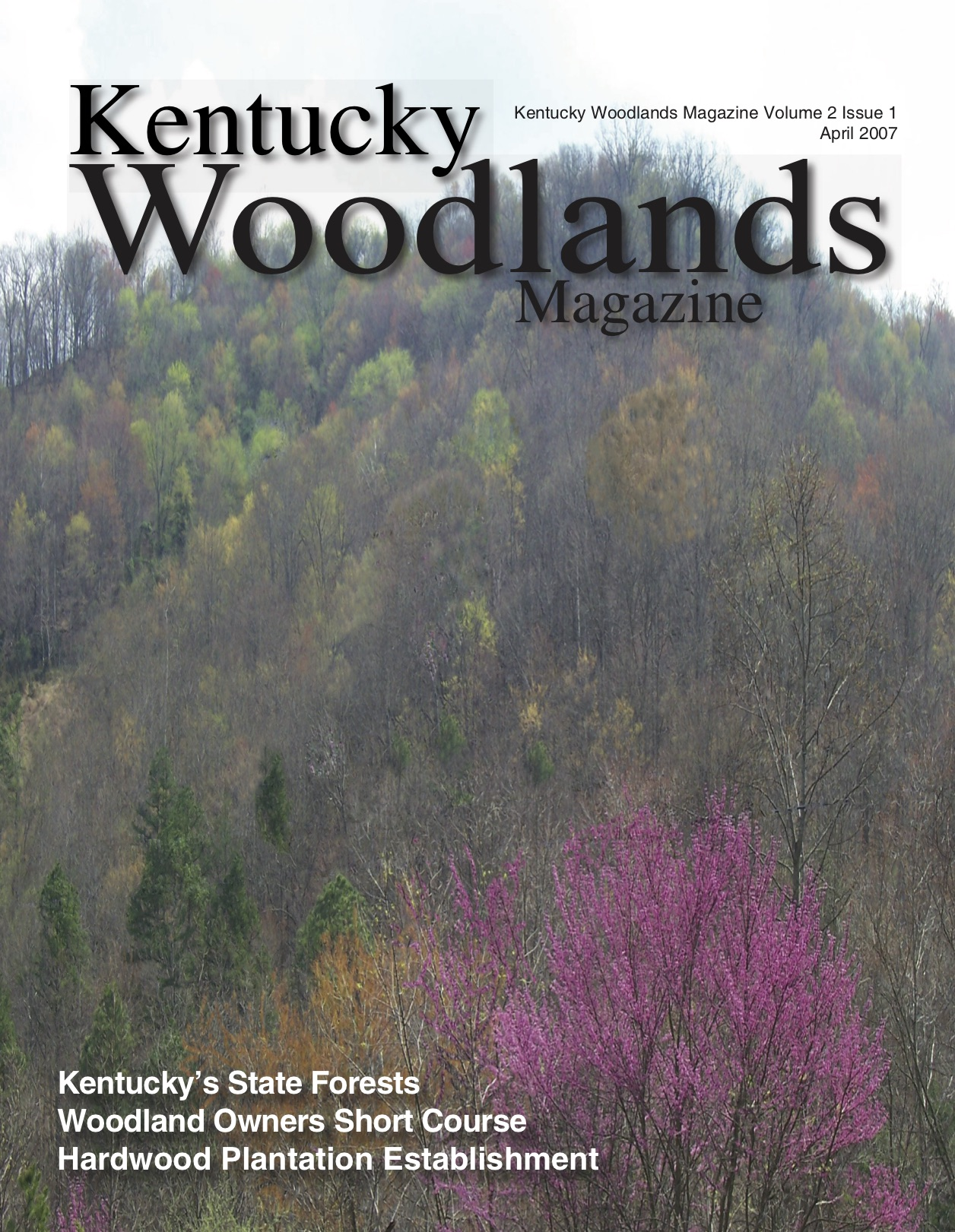 Kentucky Woodlands Magazine Cover Forest