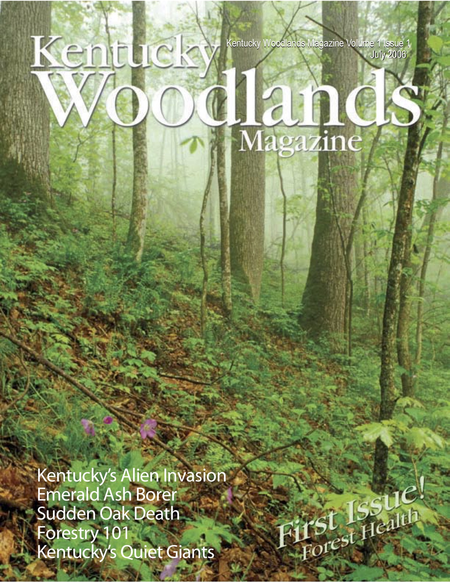 Kentucky Woodlands Magazine Cover